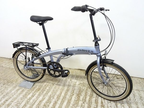 "2020 Dawes Diamond 20"" Unisex Hybrid Folding Bike 3 Spd Nexus New But Faulty"