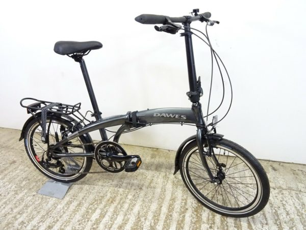 "2020 Dawes Kingpin 20"" Unisex Hybrid Folding Bike 7 Spd New But Faulty Clamp"