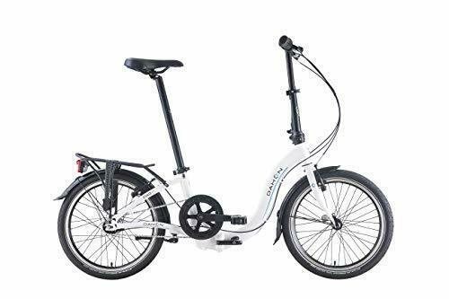 DAHON 7 Speed Ciao i7 Folding Bike, White, 20 inch