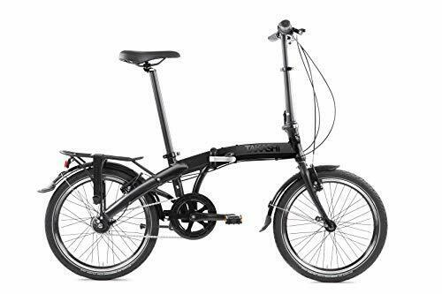 Takashi Shimano Nexu's Seven Folding bike, Black matte, Foldable