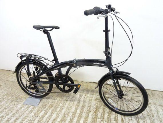 "Adventure Snicket 20"" Unisex Hybrid Folding Bike 7sp Light Alloy New Shop-Soiled"