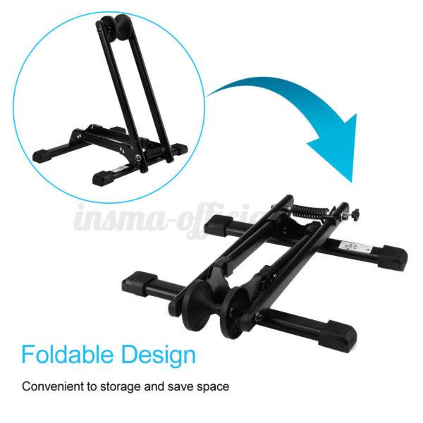 Portable Folding Bike Stand Floor Parking Rack Bicycle Storage Display Holder ☆