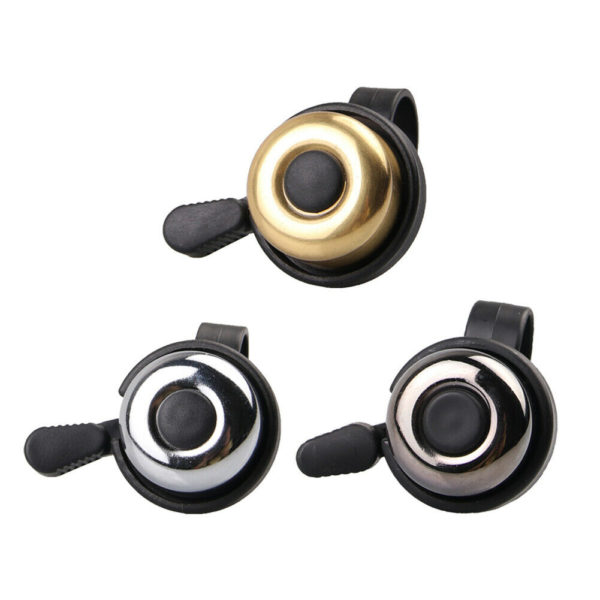 Safety Cycling Bicycle Handlebar Metal Bell for Mountain Road Folding Bike tt