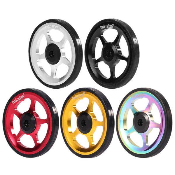 Mi.Xim Aluminum Alloy Easy Wheel with M6 Bolt for Brompton Folding Bike #cz