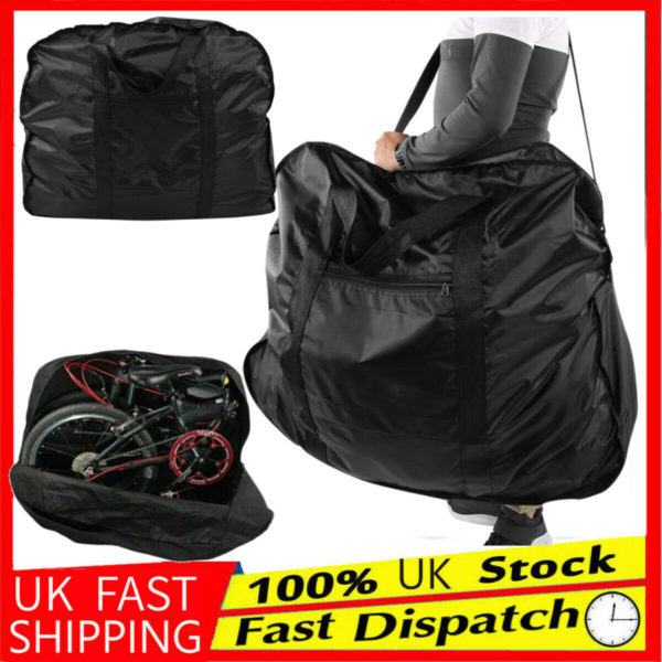 20inch Waterproof Folding Bike Carrier Bicycle Transport Storage Bag Dust Cover