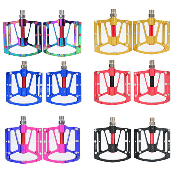 Flat Pedals Light weight Aluminum alloy Cycling MTB Bicycle Folding bikes