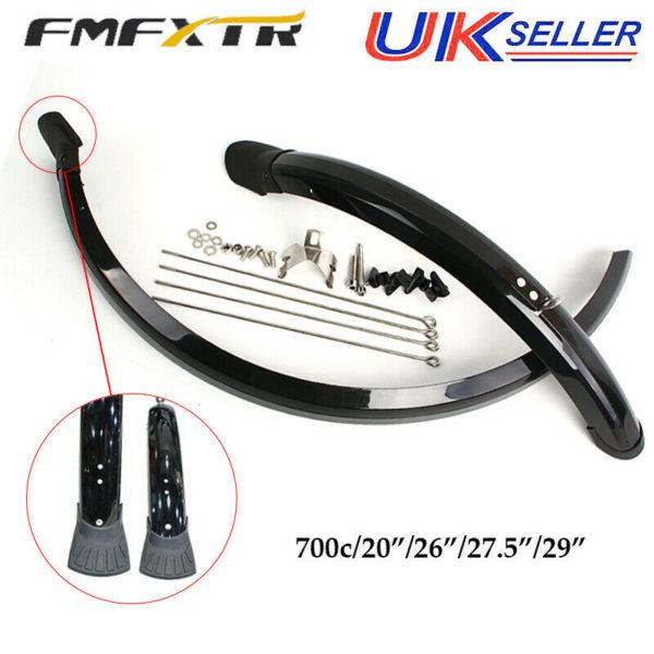 FMFXTR MTB/Road/Folding Bike Front&Rear Mudguard Sets Plastic Ultralight Fenders