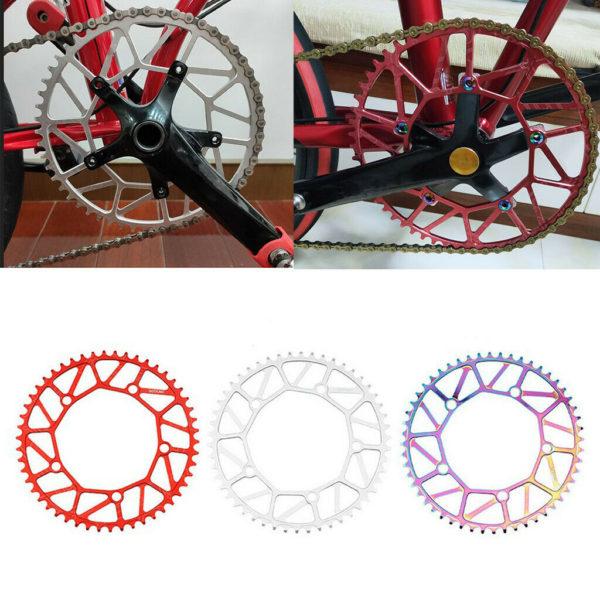Ultralight Folding Bike Chainring CNN Aluminum Alloy Narrow Wide 9-11 Speed