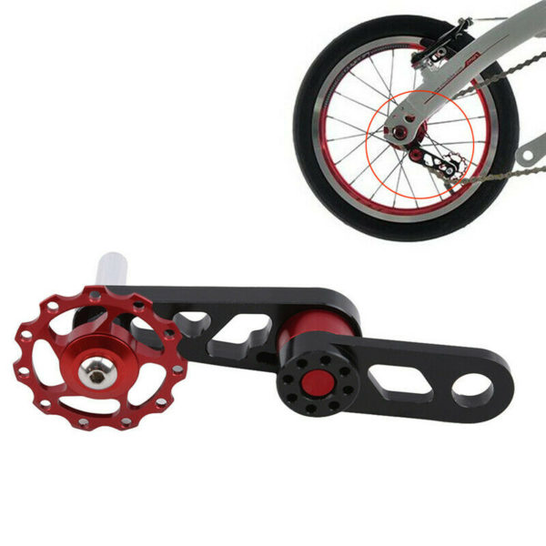 Metal Guide Chain Folding Bicycle Wheel Tooth Chain Round Disc Mount Chain SI