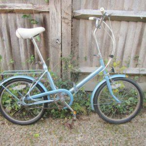 """Vintage Hercules Folding Bike - 20"""" Tyres"""
