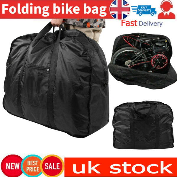 20 inch Folding Bike Travel Bag Transport Bicycle Storage Carrying Case Pouch