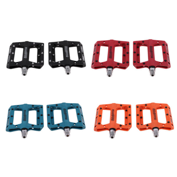 1 Pair Anti-skid Lightweight Polyamide Bike Pedals Road Bicycle Folding Bike