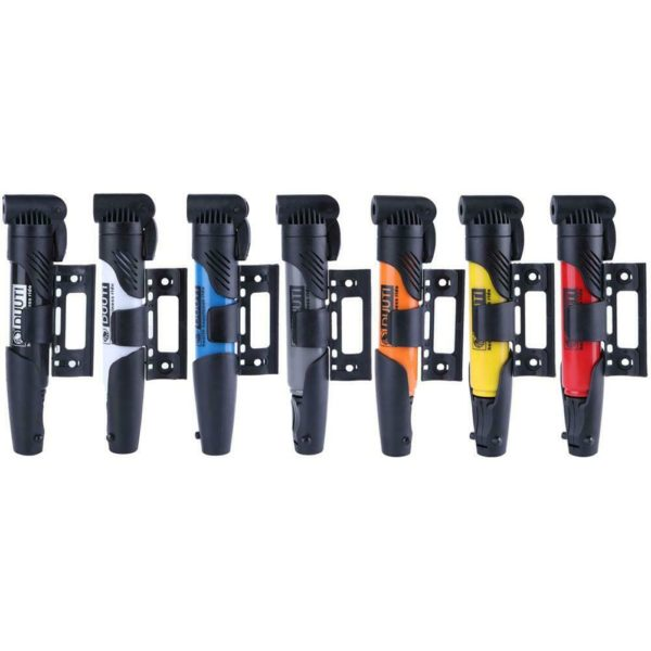 Portable Folding Bicycle Air Pump Inflator for Presta Schrader Valve #K