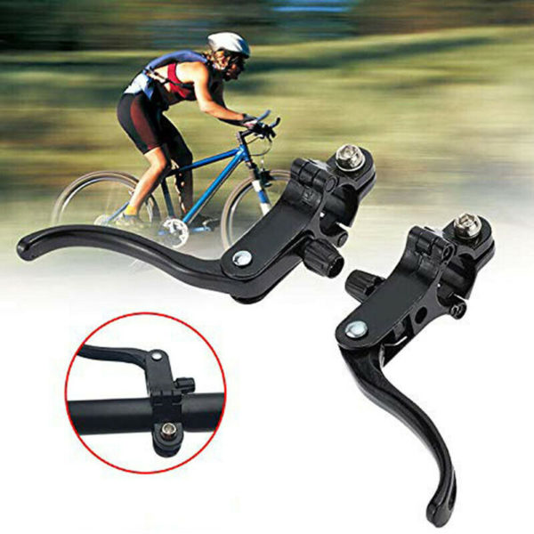 Folding Bicycle Brake Lever Alloy Handle Brakes Caliper MTB Bike Supplies Set 6A