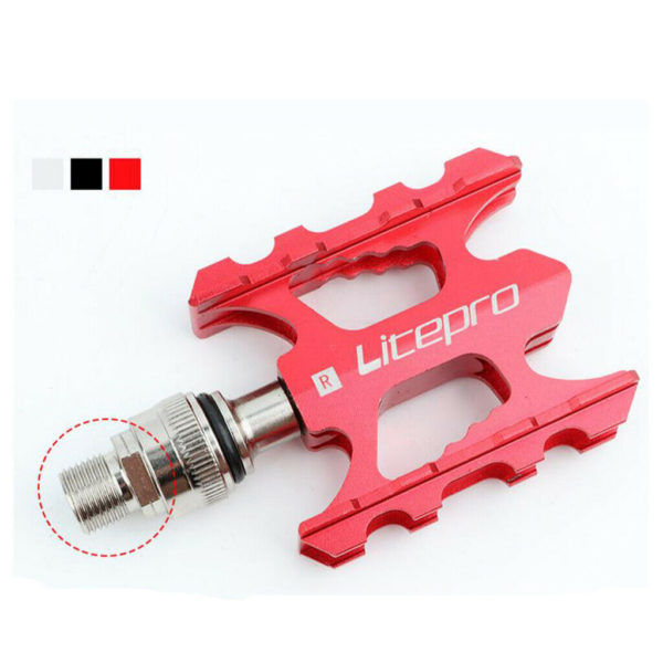"""9/16"""" Mountain Bike Pedals Lightweight Bicycle Platform Pedals for Folding Bike"""
