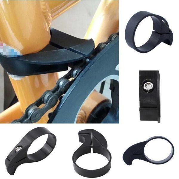 Sprocket Wheel Folding Bicycle Chain Protector Tool Anti Block Anti Fall N7