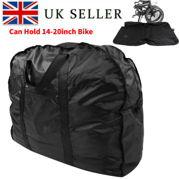 """Portable Folding Bike Bag Luggage Carrier Storage Case Travel for 14-20"""" Bicycle"""
