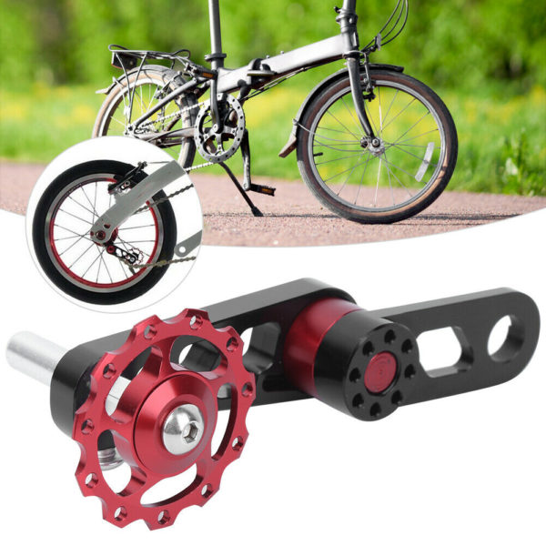 ZTTO Aluminium Alloy Bicycle Chain Tensioner for Single Speed Folding Bicycle