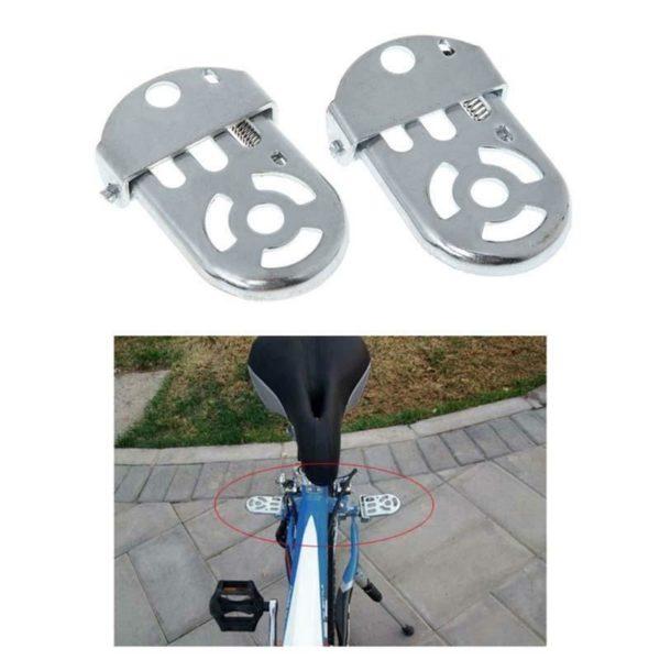 Folding Bike Pedals Foldable Bottom Bracket Foot Pedal Platform Assembly T3