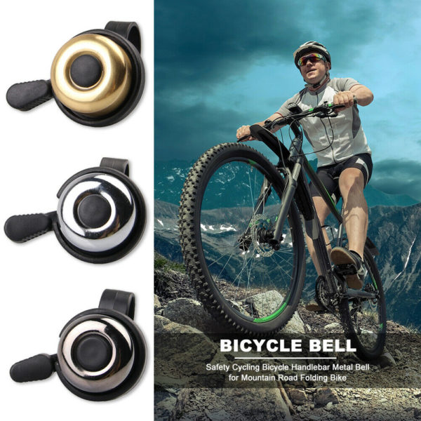 Safety Cycling Bicycle Metal Bell Handlebar for MTB Mountain Road Folding Bike