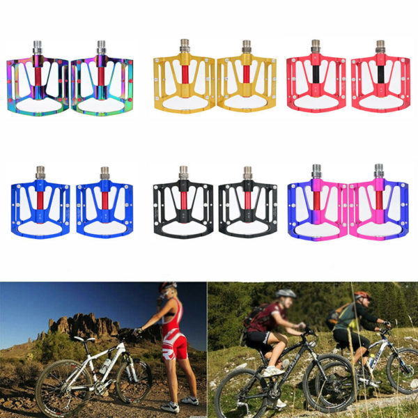 Pair Pedals Cycling MTB Bike Bicycle Folding bikes 3 Bearing High Quality