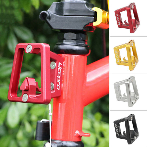 Cycling Front Carrier Block Bicycle Aluminum alloy Folding Bike Bag Stand