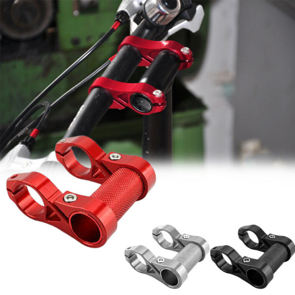 Replacement Part Folding Bicycle For 25.4mm Handle Cycling Double Stem Riser