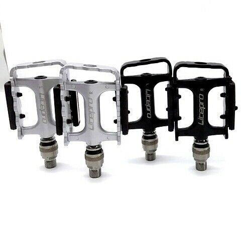 1X(Litepro Folding Bike Pedal 3 Palin Sealed Bearing  Release Pedal wi X3Q7