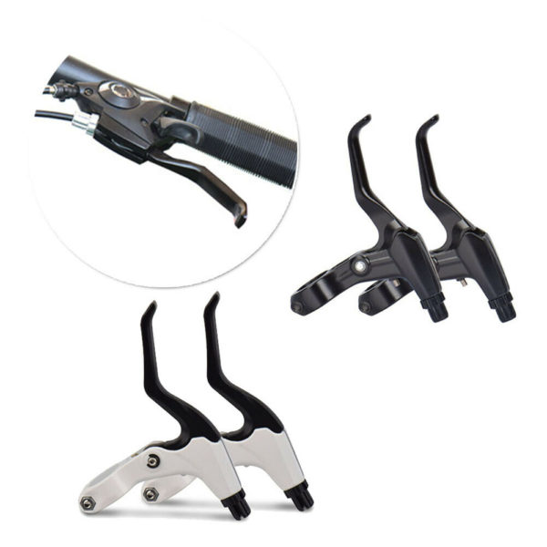 Brake Set Bicycle Bike Mountain Bike Folding Bike Levers Brakes Aluminum Alloy
