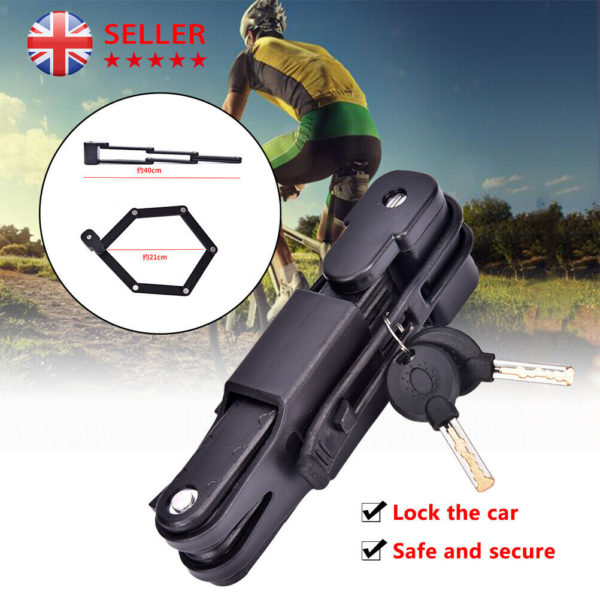 Folding Bicycle Cable Lock MTB Anti-theft Lock Riding Security Equipment