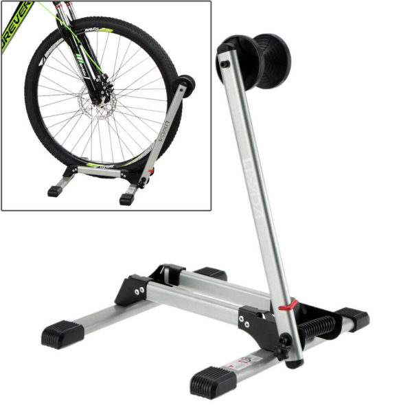 "16-29"" Folding Bicycle Stand Floor Parking Storage Display Stand Holder UK I0X6"
