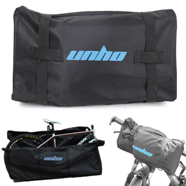 "UNHO Mega Bike Travel Case  Wheeled Folding Bike Carry Bag For 26"" Shimano Large"