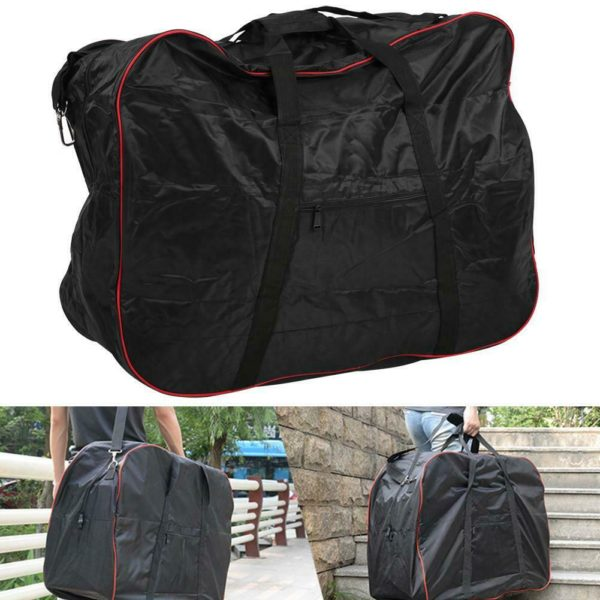 Universal 420D Polyester Folding Bicycle Storage Bike Loading Pouch Cycling