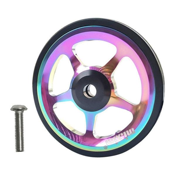 Folding Bike Easy Wheel Foldable Bicycle Parking Easywheel Stylish Push EZ Wheel