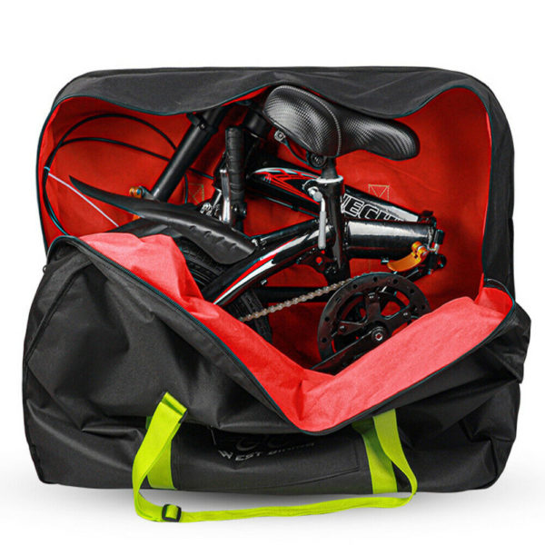 Folding Bike Bag Bike Transport Shoulder Bag 14-20 inch Bicycle Travel Case