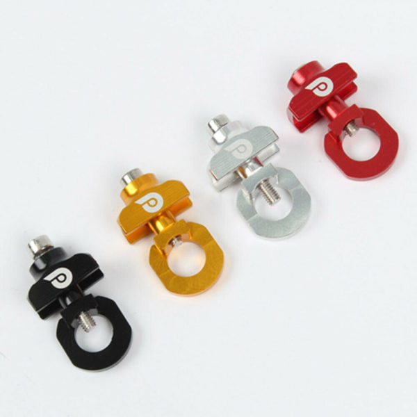 Bicycle Chain Tensioner Aluminum Alloy Chain Guide Adjuster For Folding Bike