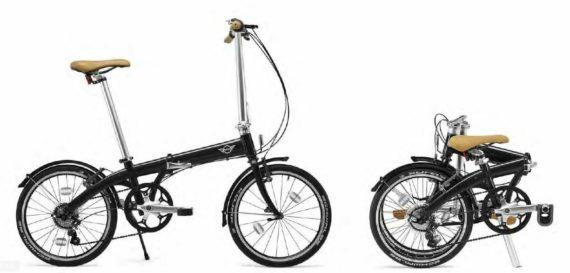 MINI BMW Folding Bike (RRP £600) 80912454881