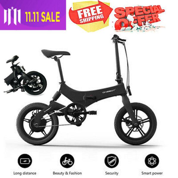 Onebot S6 16inch Electric Folding Bicycle 36V 250W City EBike Adults Mini Bike