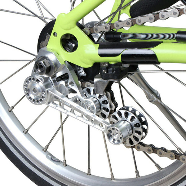 Cycling Tension Adapter Folding Bike Chain Guide Bicycle Stabilizer For Brompton