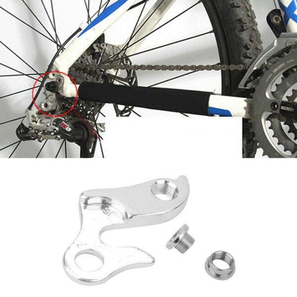 Premium Folding Bicycle Outside Rear Derailleur Tail Hook Hanger Converter1#