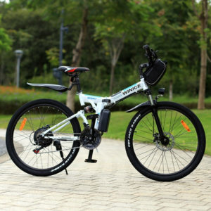 Winice Electric Bike Mountainbike 26 in E-Folding Bike 250W City Bicycle 35 km/h