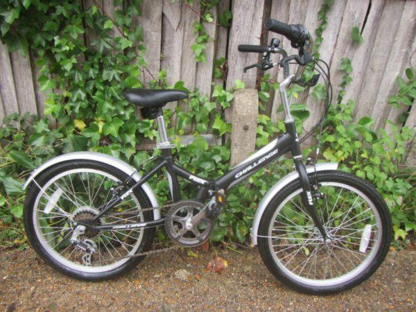"Challenge Reflex Folding Bike - 20"" Tyres"