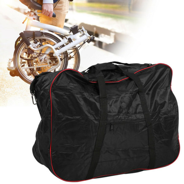 Universal 420D Polyester Folding Bicycle Storage Bike Loading Pouch Cycling Kits