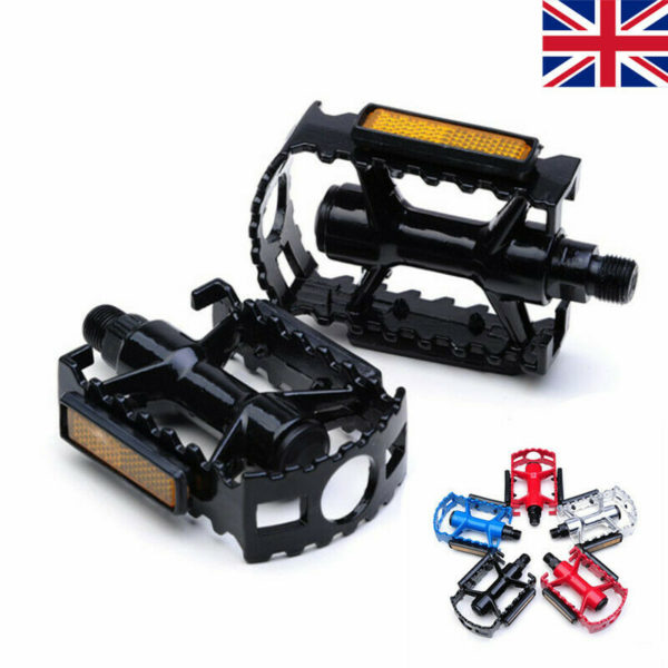 2X Folding Bike Pedals Black Bicycle Pedals UK