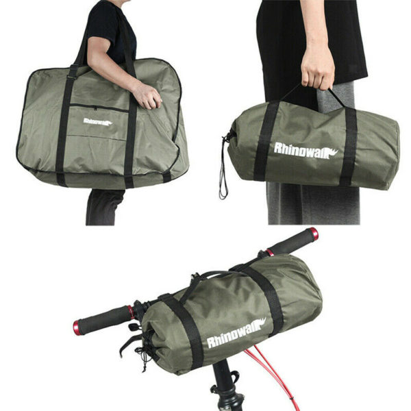 Folding Bike Carry Bag Storage Case 14'' 16'' 20'' Bicycle Scooter Travel Pack