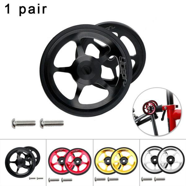 Cart wheel For Brompton Folding Bike Push round Easy Wheels High quality