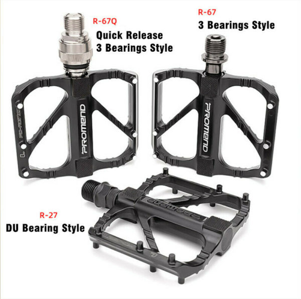 "9/16"" Folding Bicycle Pedal 3 Bearing Quick Release MTB Road Bike Pedals"