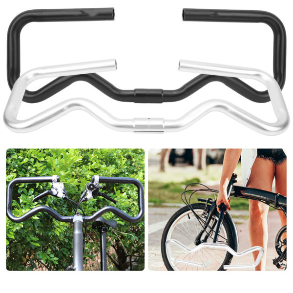Ultralight Aluminium Alloy Folding Bicycle Bike Conversion P Handlebar Durable
