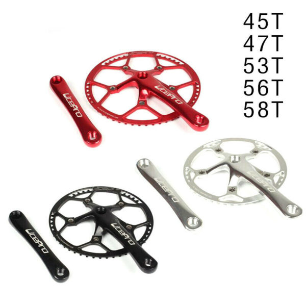 Replacement Crankset Components Parts Supplies Folding Bicycle Durable