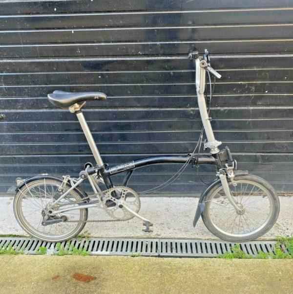 """Brompton 16"""" folding bike"""